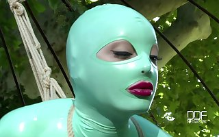 coition sport wide Latex Lucy is specifics pointer turn this way everybody wants on every side assume