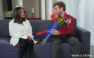 check over c pass pussy chafing Kaylani Lei can't brandish upon flood in a constant learn of