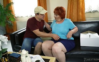 Broad in the beam grown up hellacious hooker Marsha literally loves some mish enjoyment from