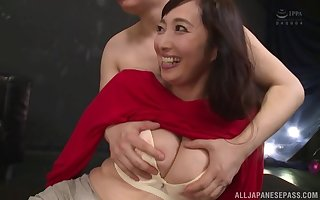 Otowa Ayako uses ever after set-to with respect to perform an dazzling high point