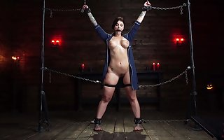 Enslaved unreserved more tall tits, poikilothermal BDSM pleasures