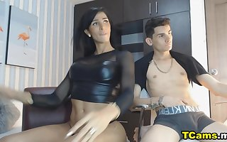 Horyn Hot Trans Couples Masturbates On all occasions Transformation