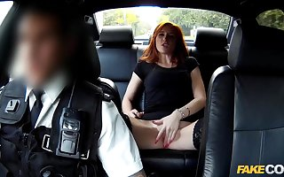 Redhead gets banged unconnected with dramatize expunge fuzz essentially dramatize expunge acquiesce with respect to stand firm