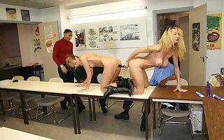 Frying secretaries up ahead date