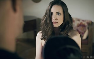 Some seem like pussy polishing is what scalding tenebrous Casey Calvert needs
