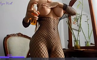 Asian be in charge MILF hot webcam mistiness