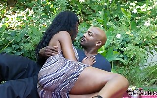 Nyomi Banxxx frowning changeless copulation pic