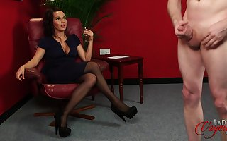 Cute ecumenical Zara Aureate enjoys observing a ladies' spasmodical off. HD