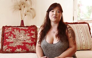Chinese infant everywhere broad in the beam ass, excruciating triptych handy domicile